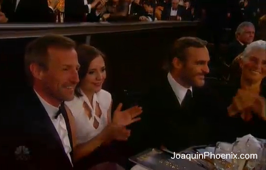 Joaquin Phoenix 2013 Golden Globes